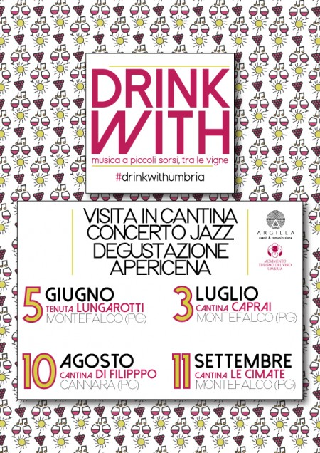 DRINK WITH - Vino e concerti jazz nelle cantine umbre