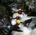 Canyoning at the Callarelle Falls