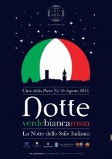 La Notte Tricolore of Città della Pieve enhances the excellence that enhance Italy in the world