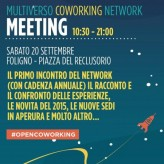 MULTIVERSO COWORKING NETWORK MEETING