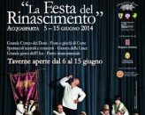 THE FEAST OF THE RENAISSANCE TO ACQUASPARTA XV EDITION