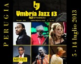 Umbria Jazz 2013 in Perugia, from 5 July to 14 July